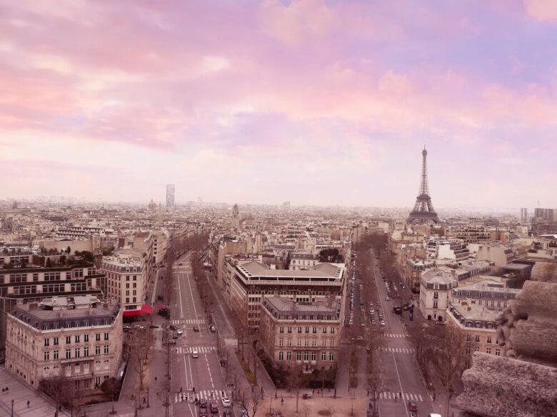 パリ旅行で行きたい定番スポット:凱旋門