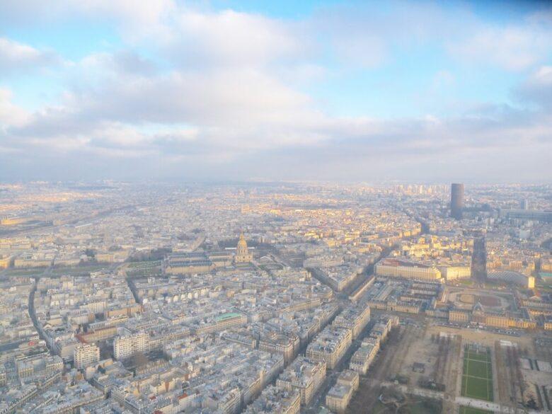 パリ旅行で行きたい定番スポット:エッフェル塔からの眺め