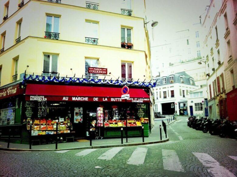 パリ旅行で行きたい定番スポット:モンマルトル・アメリのマルシェ