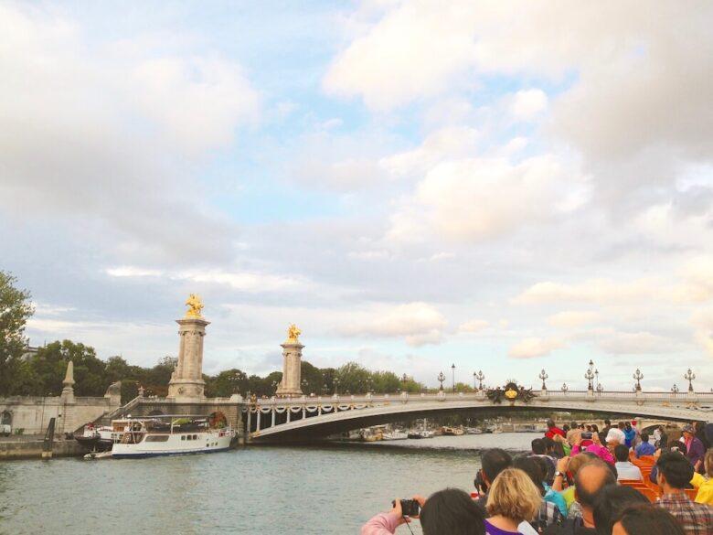 パリ旅行で行きたい定番スポット:セーヌ川