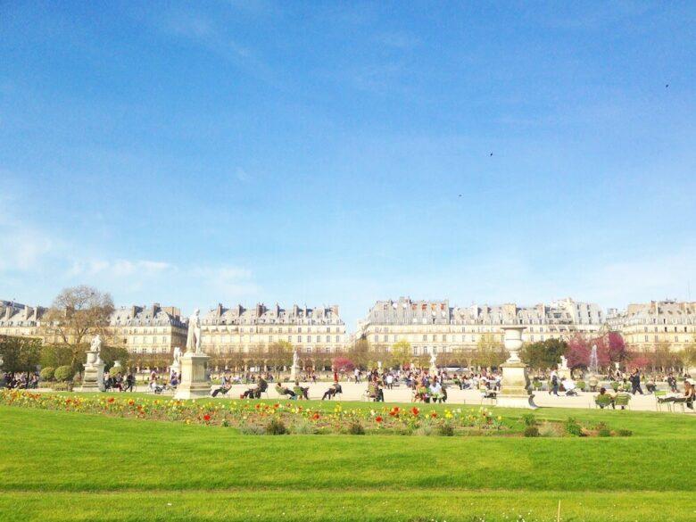 パリ旅行で行きたい定番スポット:チュイルリー公園