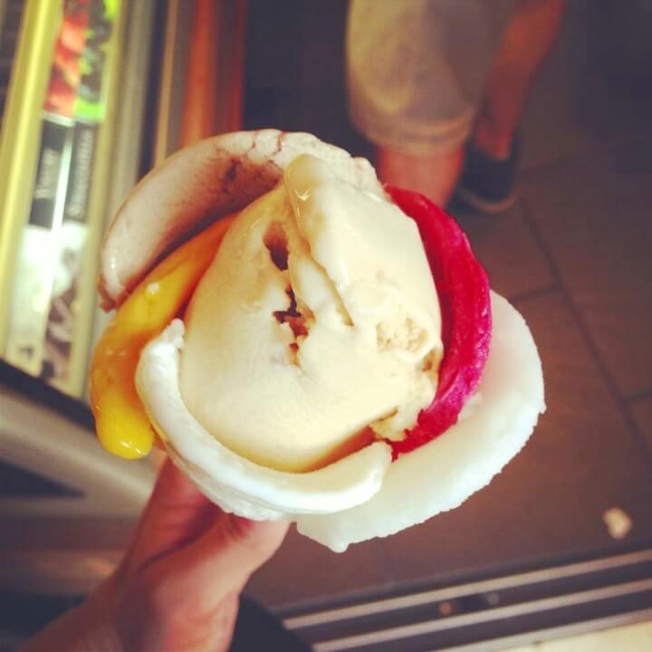 Amorinoのアイス