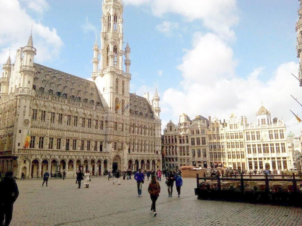 ベルギー・ブリュッセルのグランプラス