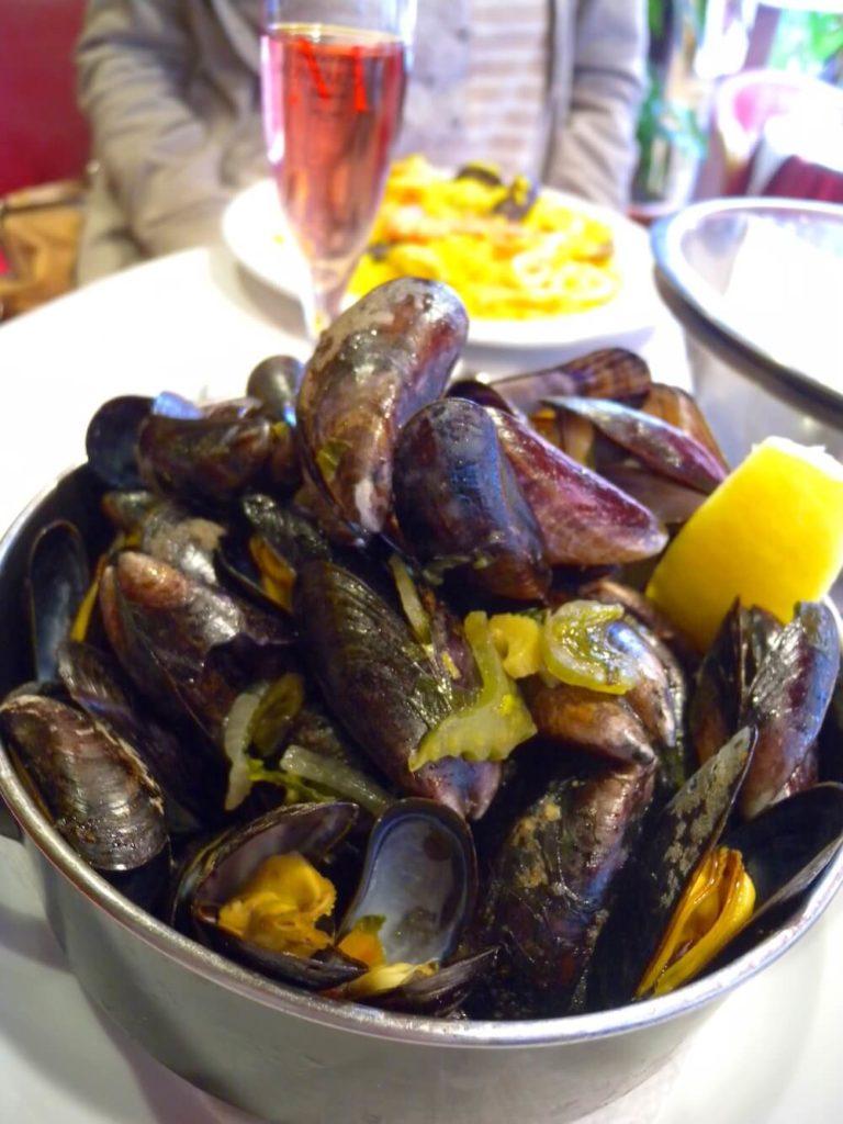 ベルギーのムール貝