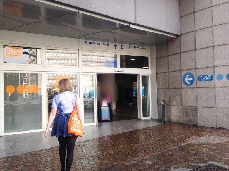ブリュッセルMidi駅の歩き方