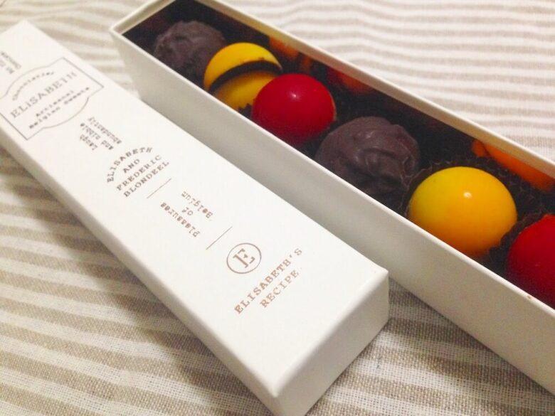 エリザベスで購入したチョコレート