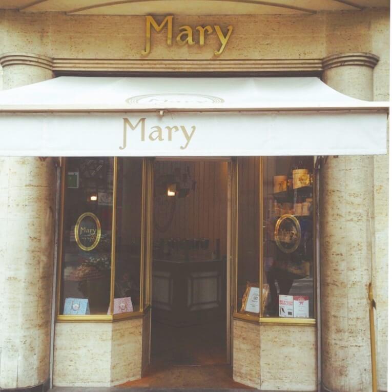 グランプラス近くのMary