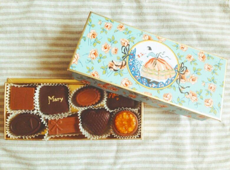 日本未上陸Maryのチョコレート