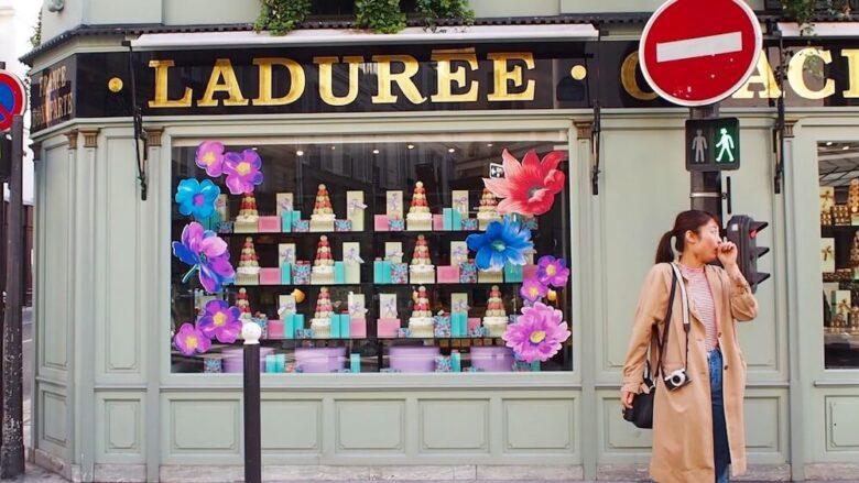 パリのオススメスイーツ:ラデュレ