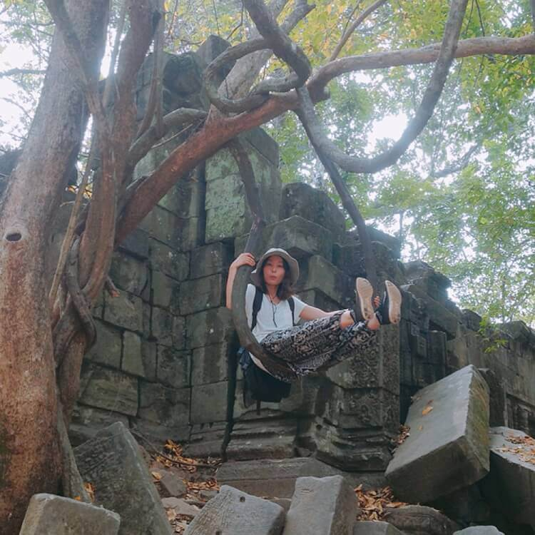 カンボジア・ベンメリア