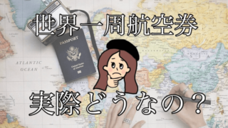世界一周航空券って実際どうなの?