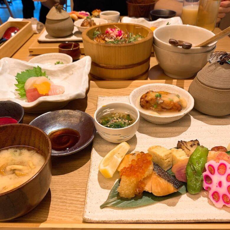 温泉旅館由縁札幌・朝食