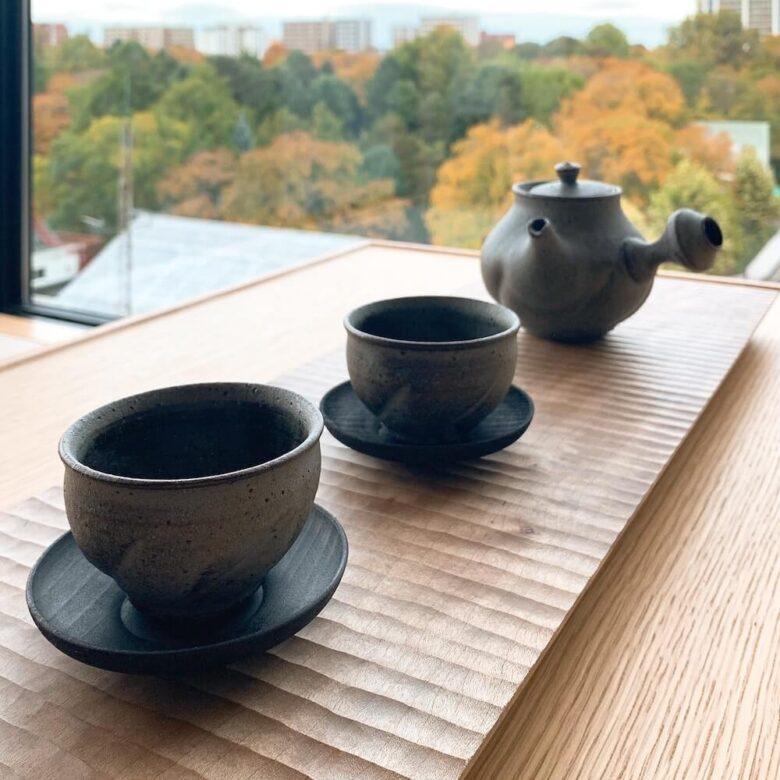 温泉旅館由縁札幌・茶器