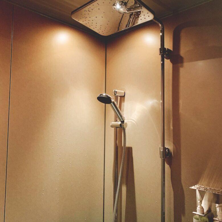 温泉旅館由縁札幌・シャワー