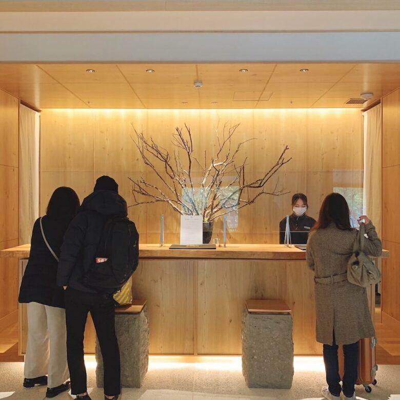 温泉旅館由縁札幌・ロビー